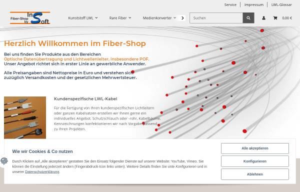 Vorschau von www.fiber-shop.de, InSoft Uwe Flick