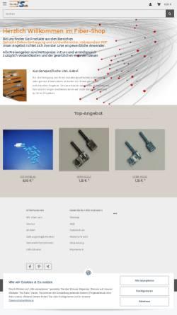 Vorschau der mobilen Webseite www.fiber-shop.de, InSoft Uwe Flick