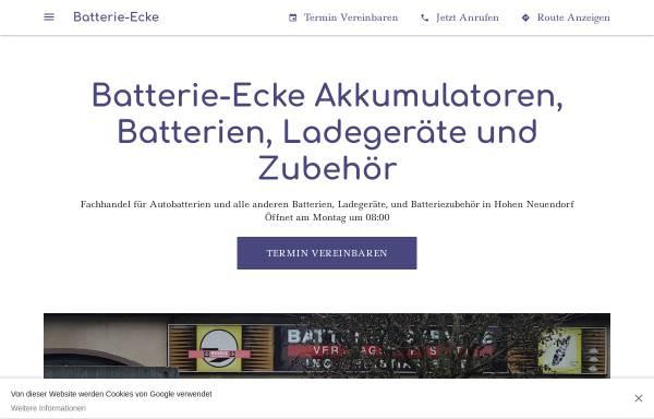 Vorschau von www.batterie-ecke.de, Batterieservice Ing. Ch. Ecke
