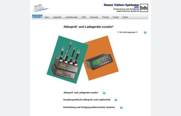 Vorschau von www.akkuladegeraete.de, BDS Bauer Daten-Systeme GmbH
