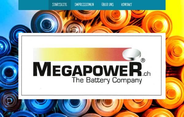 Vorschau von www.megapower.ch, Megapower GmbH