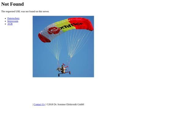 Vorschau von www.sommer-electronic.de, Sommer Elektronik und Modellbau