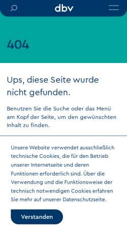 Vorschau der mobilen Webseite www.bibliotheksverband.de, Arbeitsgemeinschaft der Gefangenenbüchereien