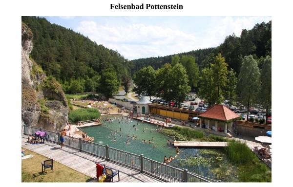 Vorschau von www.felsenbad-pottenstein.de, Felsenbad Pottenstein - Bayreuth
