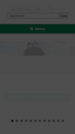Vorschau der mobilen Webseite www.deponiepark.de, Rhein-Main Deponie GmbH