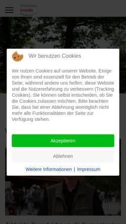 Vorschau der mobilen Webseite www.usedom-inside.de, Usedom Inside
