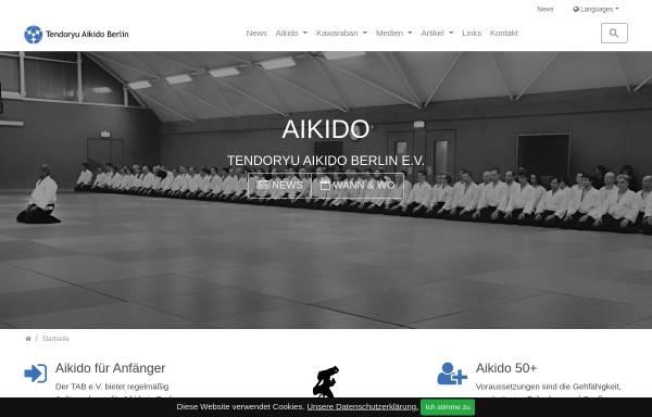 Vorschau von www.tendoryu-aikido.com, Tendoryu Aikido Berlin e.V.