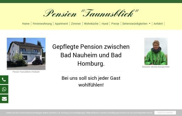 Vorschau von www.pension-taunusblick.de, Pension Taunusblick