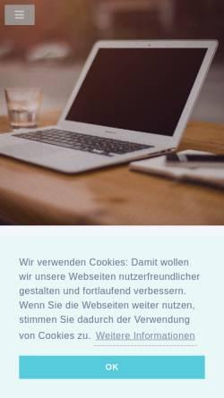 Vorschau der mobilen Webseite www.hansson.de, Hansson Übersetzungen GmbH