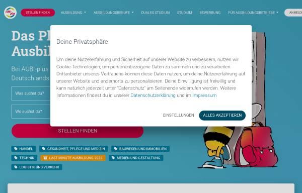 Vorschau von www.aubi-plus.de, AUBI-plus GmbH