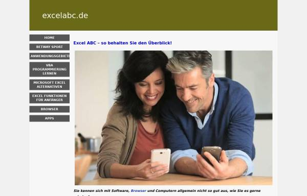 Vorschau von excelabc.de, Berti's Tipps und Tricks
