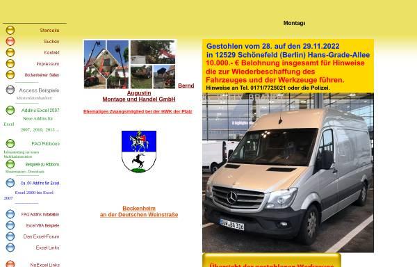 Vorschau von www.excel-addins.de, Excel Add-Ins