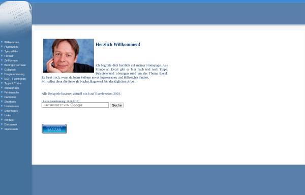 Vorschau von www.j-hennekes.de, Jürgen Hennekes Excel