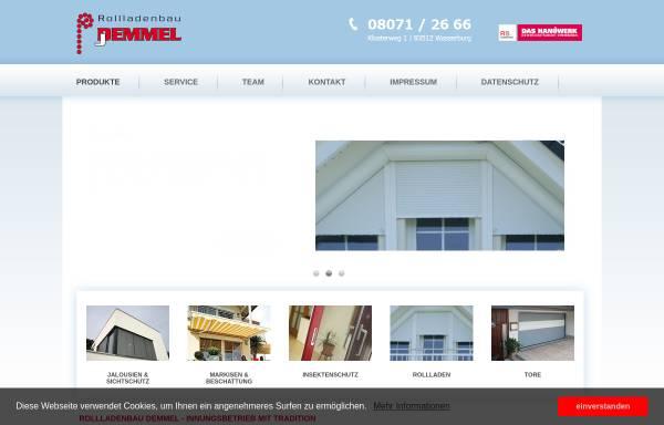 Vorschau von www.rollladenbau-demmel.de, Rollladenbau Demmel