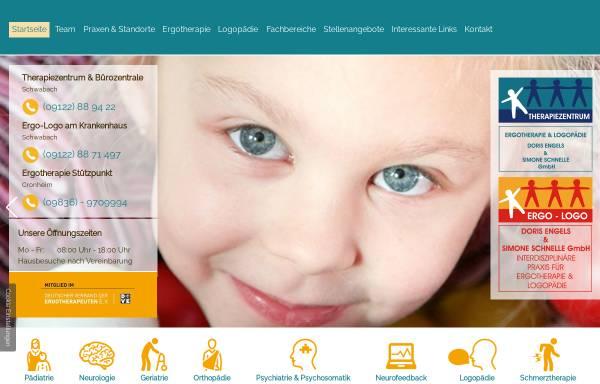 Vorschau von www.ergo-logo.info, Praxis für Ergotherapie Doris Engels