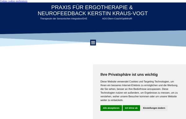 Vorschau von www.ergoimpoint.de, Praxis für Ergotherapie Kerstin Kraus-Vogt