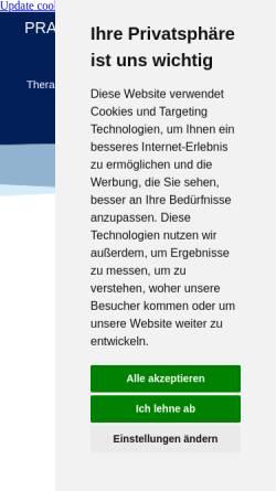 Vorschau der mobilen Webseite www.ergoimpoint.de, Praxis für Ergotherapie Kerstin Kraus-Vogt