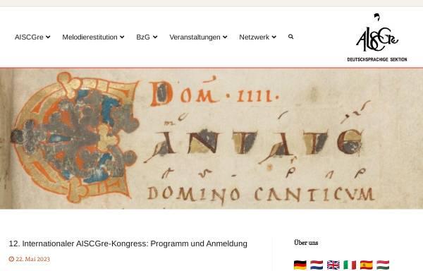 Vorschau von www.aiscgre.de, AISCGre