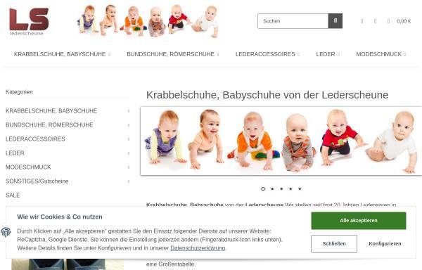 Vorschau von www.lederscheune.de, Die Lederscheune, Bettina Persch