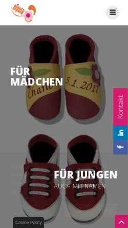 Vorschau der mobilen Webseite www.nipula.de, Nipula, Nicole Reuschel
