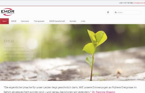 Vorschau von www.emdr.at, EMDR Österreich - Psychotraumatologie