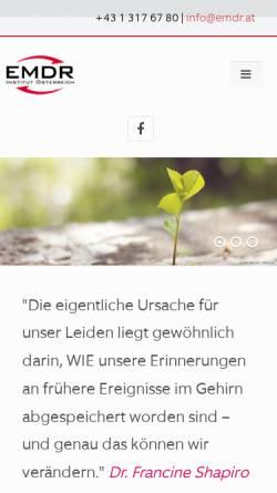 Vorschau der mobilen Webseite www.emdr.at, EMDR Österreich - Psychotraumatologie