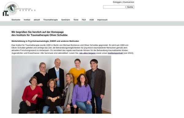 Vorschau von www.traumatherapie.de, Institut für Traumatherapie