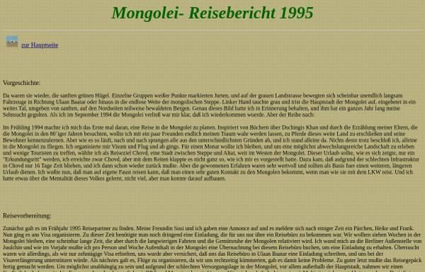 Vorschau von www.bosholm.de, Mongolei 1995 [Ole Bosholm]