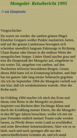 Vorschau der mobilen Webseite www.bosholm.de, Mongolei 1995 [Ole Bosholm]