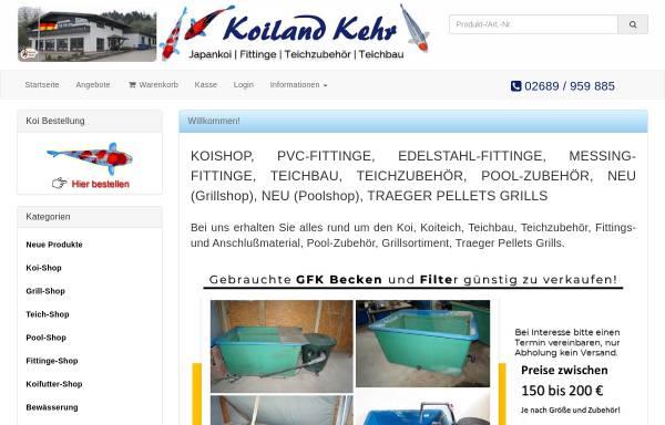 Vorschau von www.koiland-kehr-shop.de, Koiland Kehr, Anja Kehr