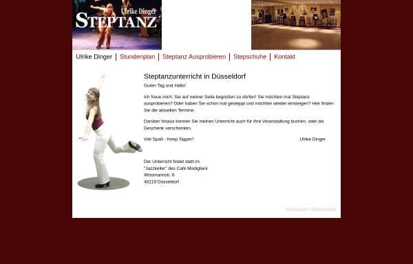 Vorschau von step-tanz.com, Dinger, Ulrike