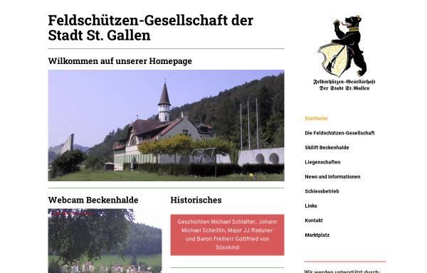 Vorschau von www.feldsg.ch, Feldschützen-Gesellschaft der Stadt St. Gallen