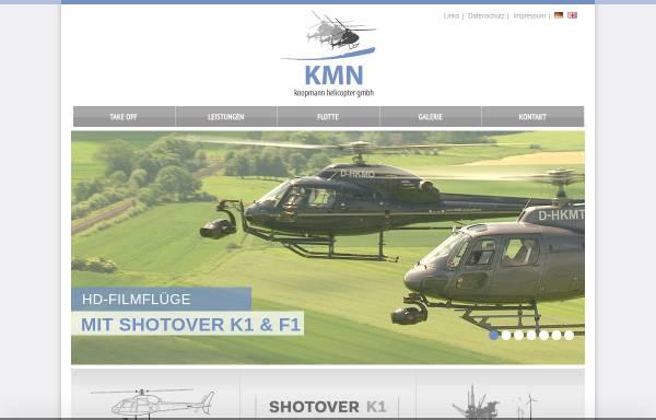 Vorschau von www.kmn-helicopter.de, KMN koopmann helicopter GmbH
