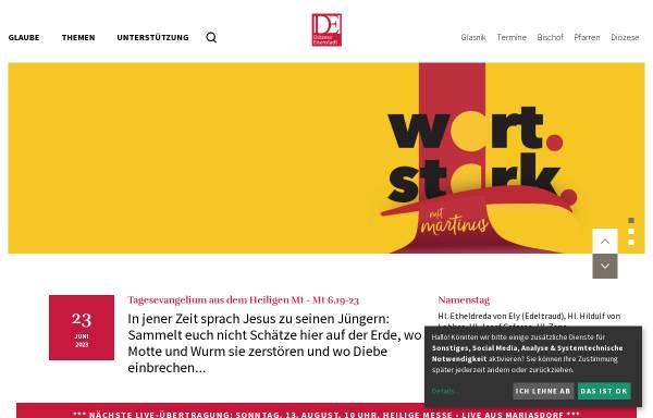 Vorschau von www.martinus.at, Diözese Eisenstadt
