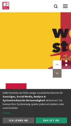 Vorschau der mobilen Webseite www.martinus.at, Diözese Eisenstadt
