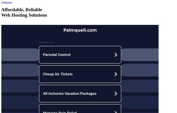 Vorschau von www.palmquell.com, Hotel Pension Palmquell