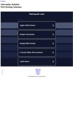 Vorschau der mobilen Webseite www.palmquell.com, Hotel Pension Palmquell