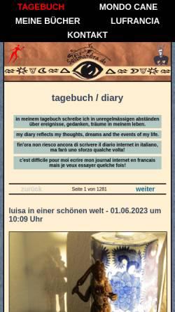 Vorschau der mobilen Webseite www.salamandra.de, salamandra.de