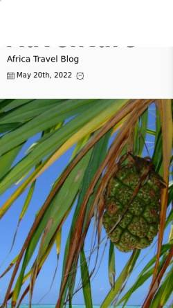 Vorschau der mobilen Webseite www.tanzania-adventure.com, Tanzania Adventure