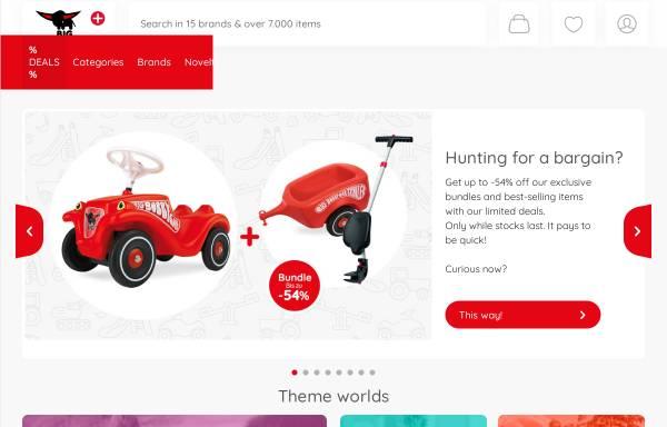 Vorschau von www.big.de, BIG Spielwarenfabrik GmbH & Co. KG