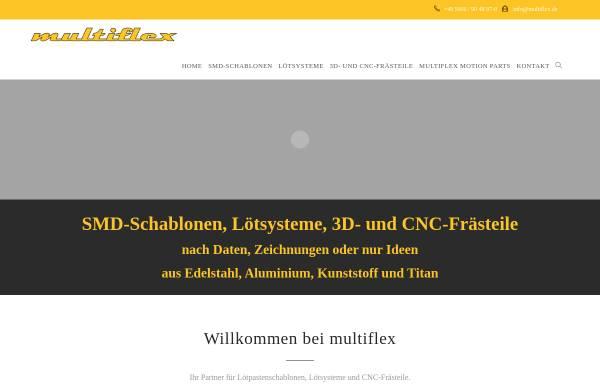 Vorschau von www.multiflex.de, Multiflex GmbH