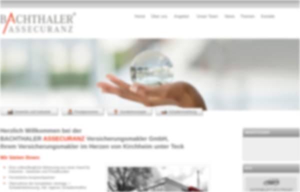 Vorschau von www.bachthaler.de, Bachthaler Assecuranz Versicherungsmakler GmbH