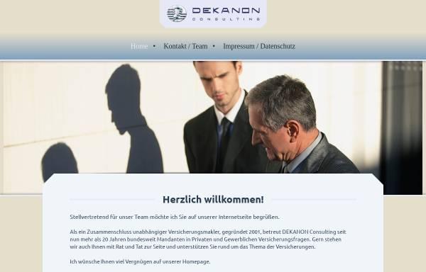Vorschau von www.compact-makler.de, Compact Finanz- und Versicherungsmakler GmbH