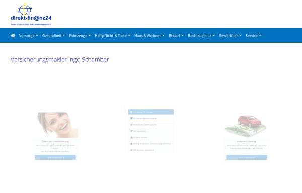 Vorschau von www.direkt-finanz24.de, Direkt-Fin@nz24 Versicherungsmakler GbR