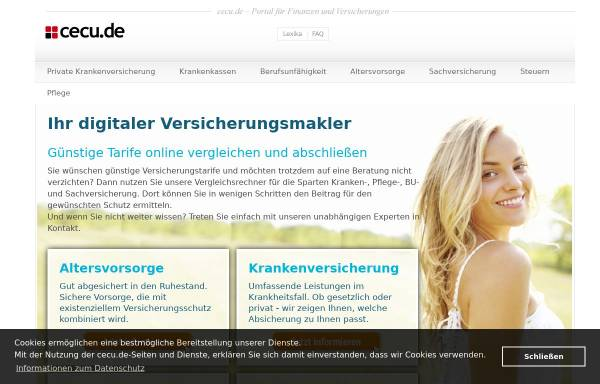 Vorschau von www.cecu.de, eprs GmbH - Financial Consulting