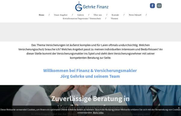 Vorschau von www.gehrke-finanz.de, Jörg Gehrke