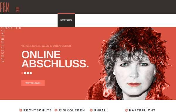 Vorschau von www.oninsure.de, P&M GmbH Versicherungsmakler