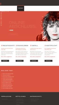 Vorschau der mobilen Webseite www.oninsure.de, P&M GmbH Versicherungsmakler