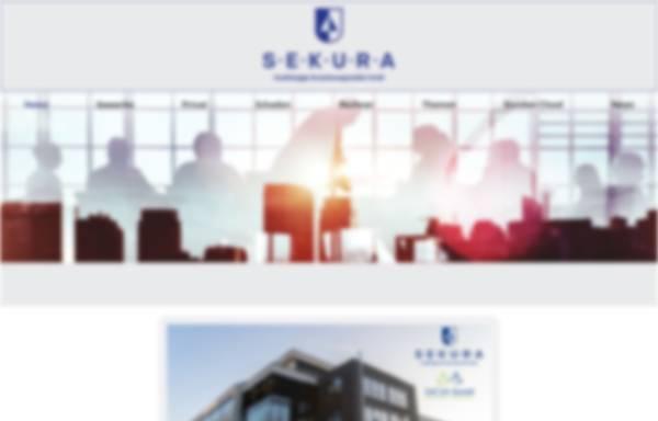 Vorschau von www.sekura-gmbh.de, Sekura Versicherungsmakler GmbH