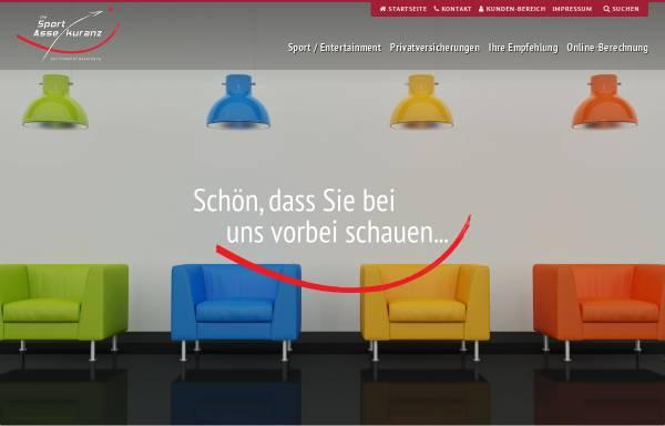 Vorschau von www.sportinsurance.net, Die Sport Assekuranz Financial & Insurance Broker